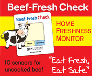 Beef Fresh Check home food freshness monitor for beef