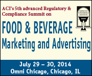 American Conference Institute Food and Beverage Marketing and Advertising Compliance
