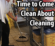 Cambro come clean about cleaning for food safety
