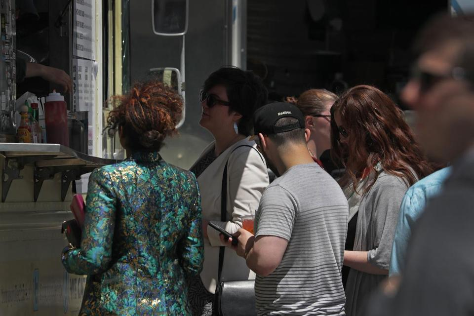 A major issue for some Boston food trucks? Hand-washing
