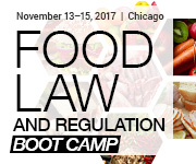 American Conference Institute Food Law Regulation Boot Camp